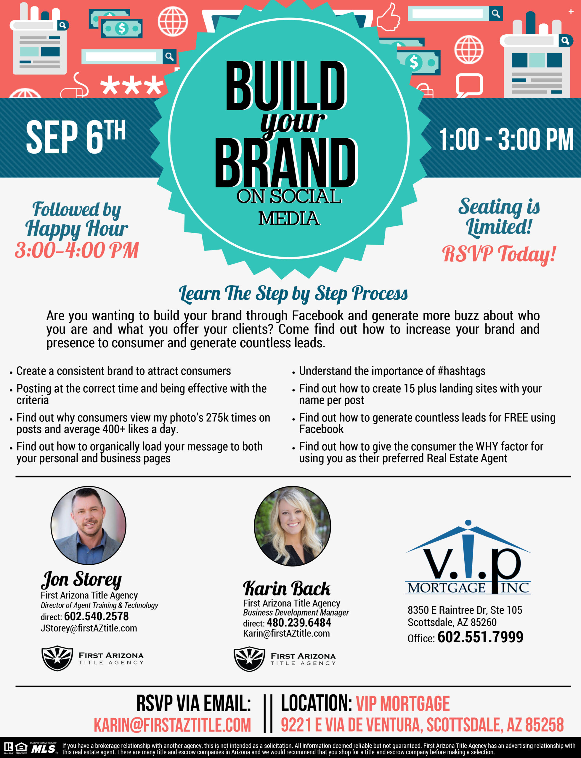 Build your Brand on Social Media @ V.I.P. Mortgage