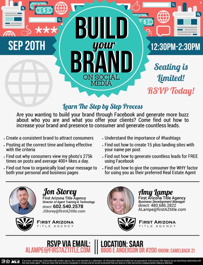Build your Brand on Social Media @ SAAR