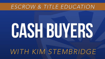 Cash Buyers with Kim Stembridge