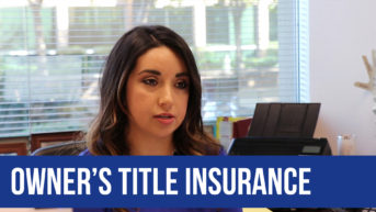 Owner's Title Insurance with Adriana Arenivar