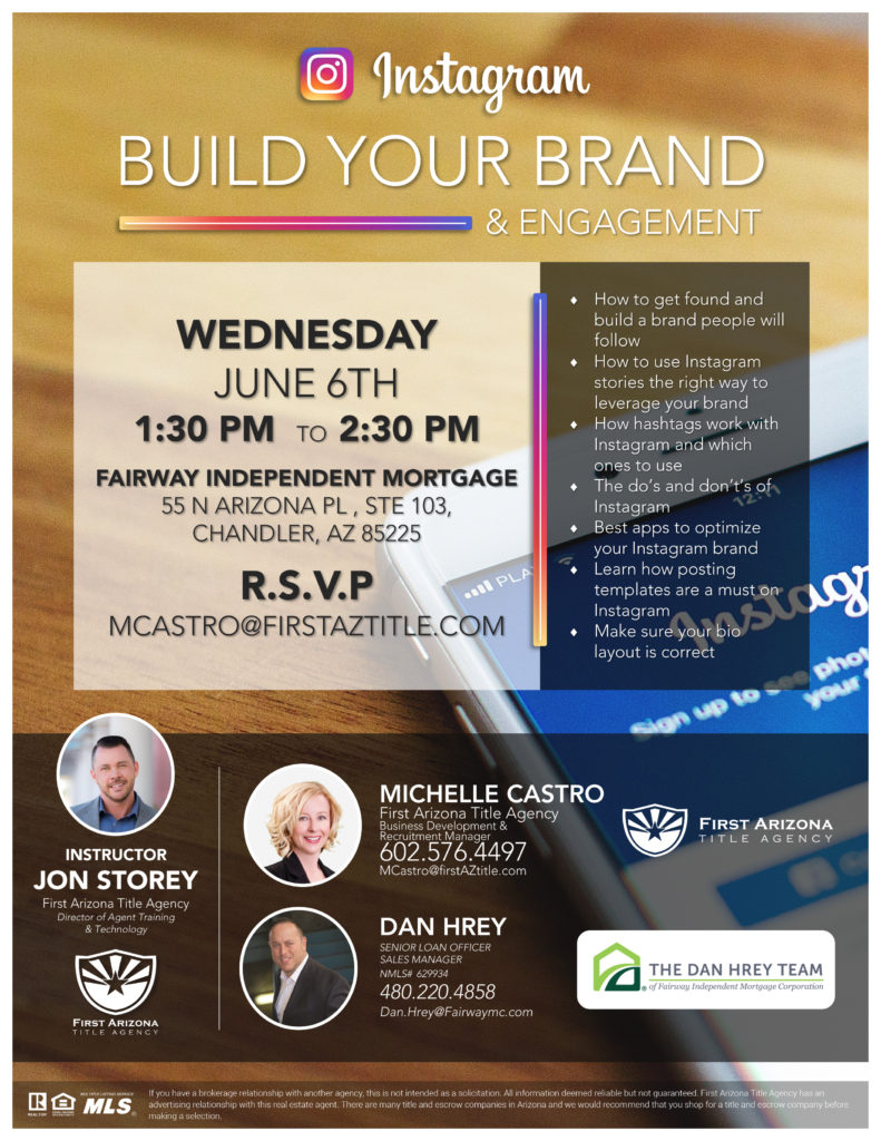 Instagram: Build Your Brand & Engagement @ Fairway Independent Mortgage