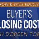 Buyer's Closing Costs