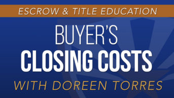 Buyer's Closing Costs