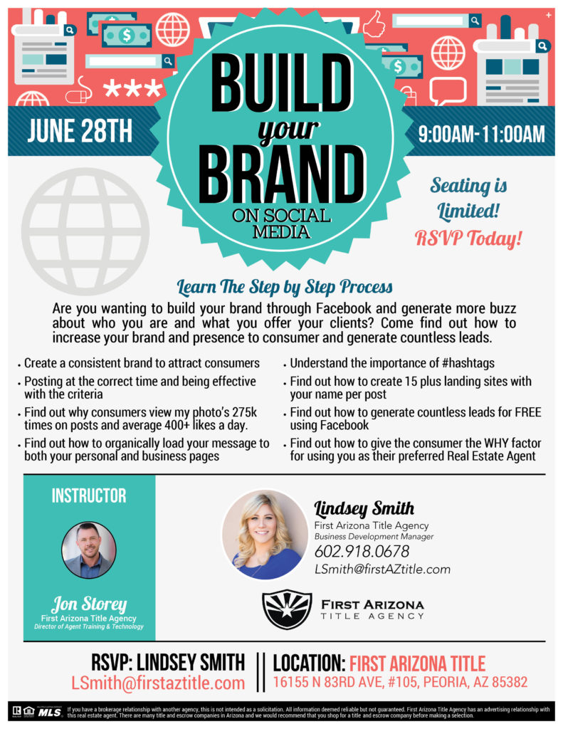 Build Your Brand on Social Media @ First Arizona Title