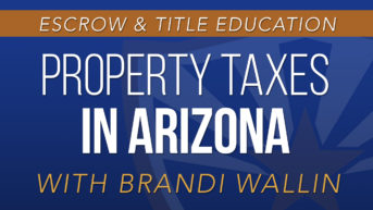 Property Taxes in Arizona