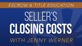 Seller's Closing Costs