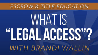 "What is ""Legal Access""?"
