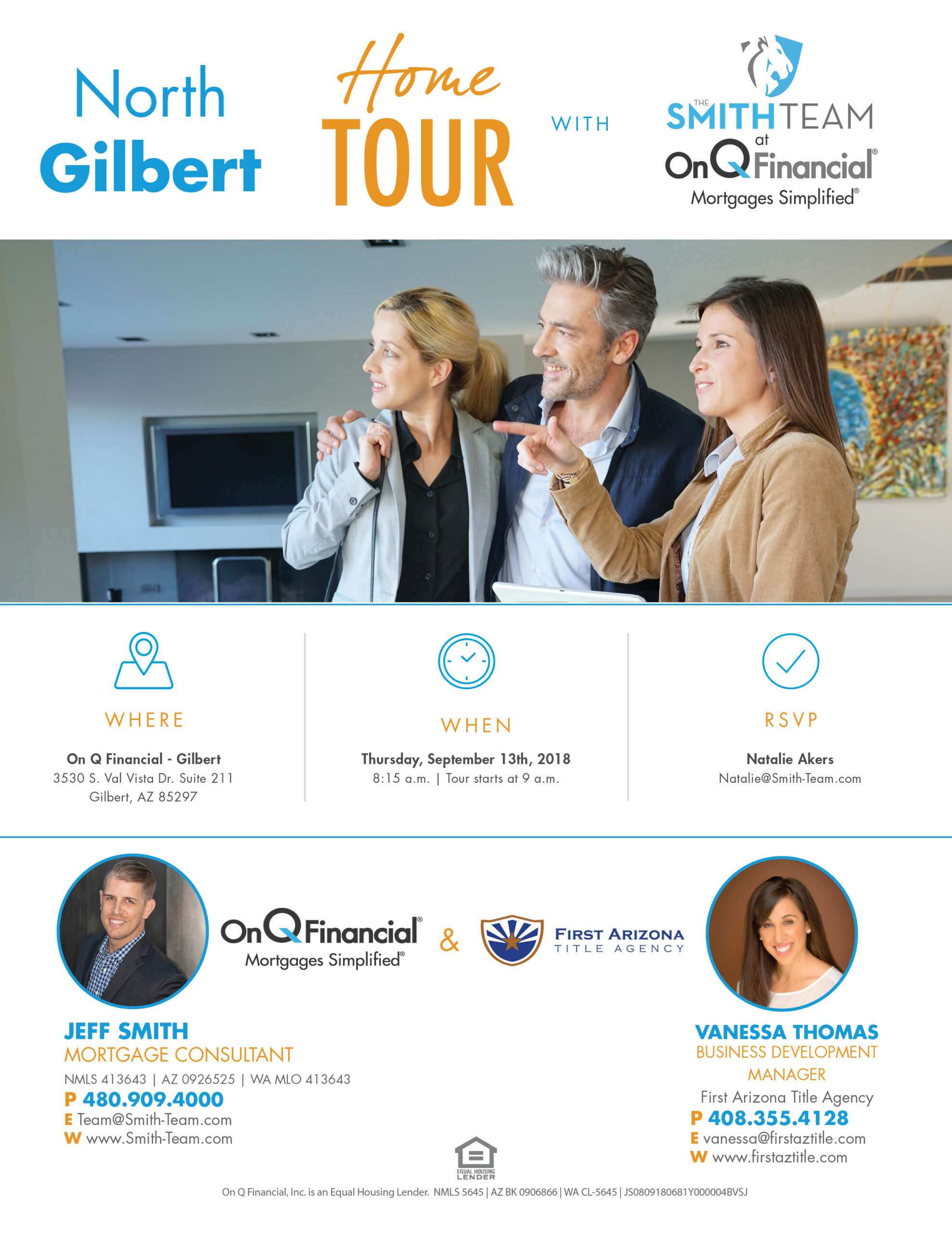 North Gilbert Home Tour First Arizona Title Agency