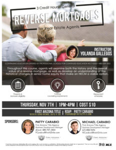 Reverse Mortgage for Real Estate Agents
